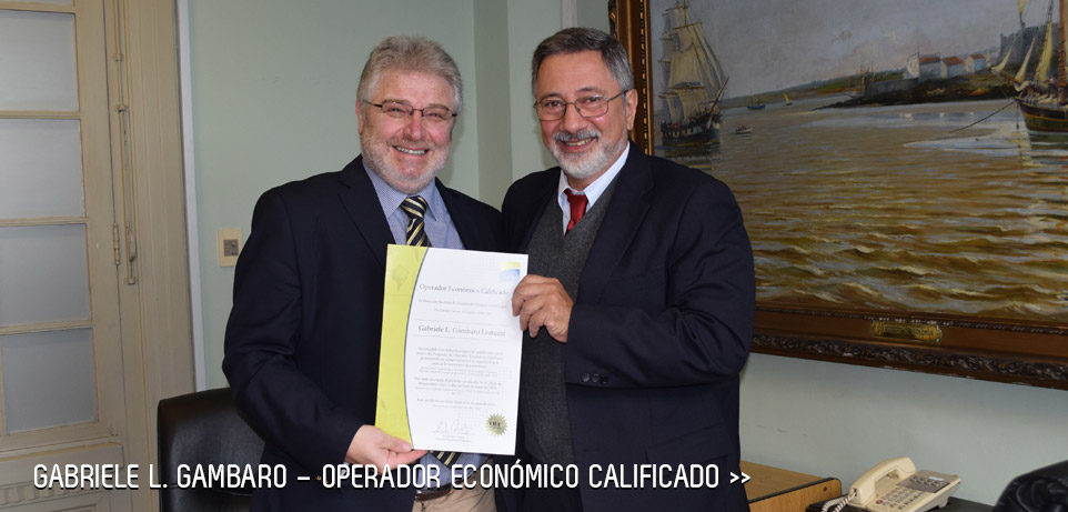 Gabriele L. Gambaro - Operador económico calificado